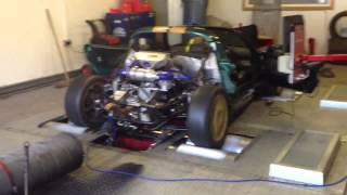 Lotus Elise hayabusa turbo dyno run