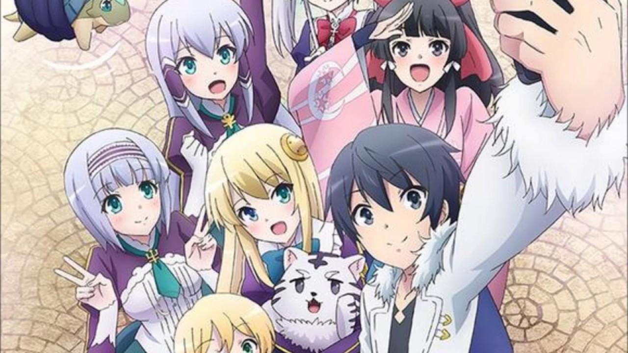 Berikut Karakter Utama Anime Isekai wa Smartphone to Tomo ni