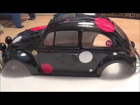 Tamiya VW Beetle Rally build Bodywork & Cockpit