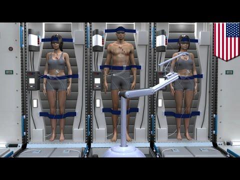 Mars mission: astronauts might deep sleep their way to Mars in hibernation chambers - TomoNews