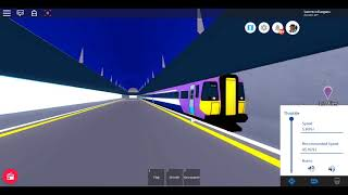 Roblox New Mnd The Gap Class 442 Regional Westport nach Denthrope (Fast)