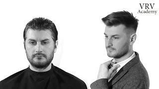 Стильная мужская стрижка ✂ Классическая мужская прическа