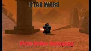 Roblox- Star Wars First Order Roleplay Review