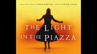 """Chauncey Trask sings """"The Light in the Piazza"""" Adam Guettel"""