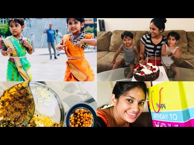 My Birthday Special Vlog // Surprise Gifts & Lunch //Temple visit in NJ// Tamil vlog in USA