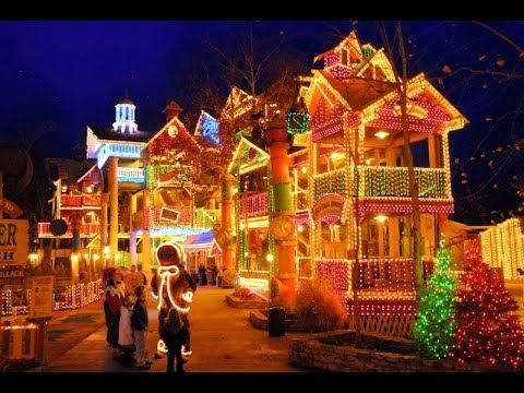 Christmas Lights In Branson