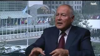 لقاء أمين الجامعة العربية من نيويورك