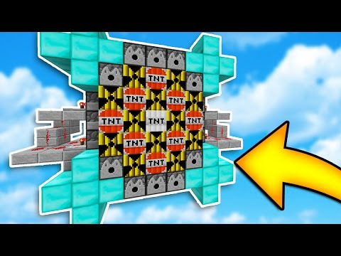MODDED TNT WARS CANNON DESTROYS EVERYTHING! Minecraft TNT WARS w/ LandonMC & Friends