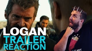 Logan trailer 1 reaction