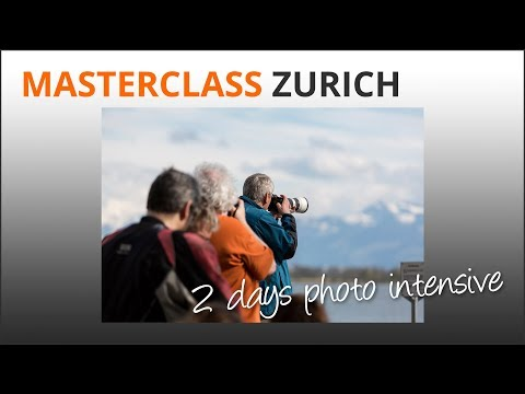 2 Day Photo Masterclass Zurich
