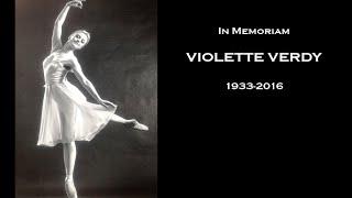 VIOLETTE VERDY In Memoriam