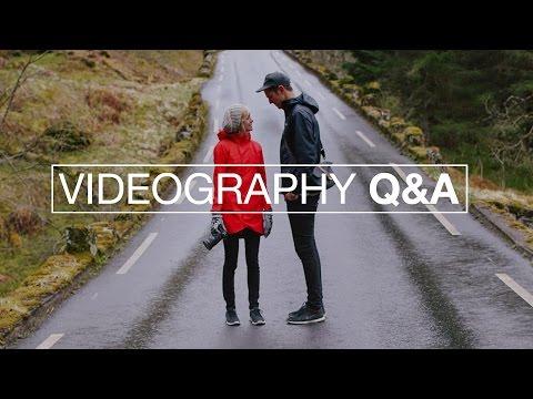 VIDEOGRAPHY Q&A || Tips & Tricks