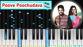 Poove Poochudava - Zee Tamil Serial Song Bgm Piano Music Video | Perfect Piano Tamil
