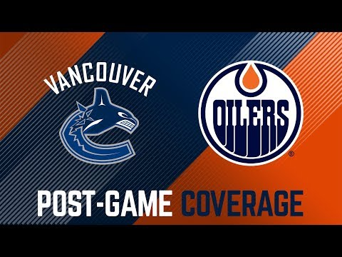 ARCHIVE | Post-Game Interviews vs. Canucks