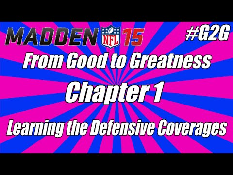 Madden 15 Tips - Learning Defensive Coverages - Cover 2 Man -  From #G2G