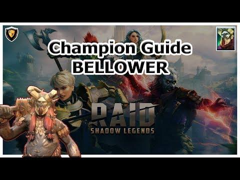 RAID Shadow Legends - Bellower Champion Guide