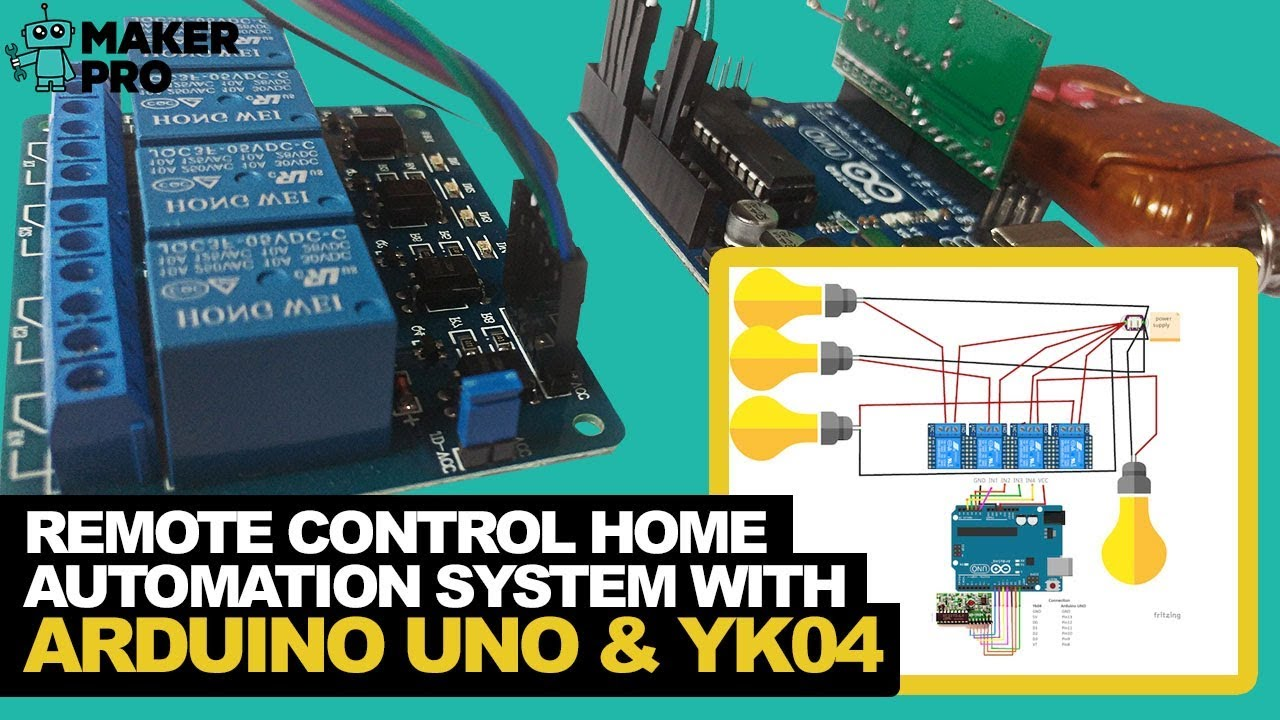 How to Build a Remote Control Home Automation System With an