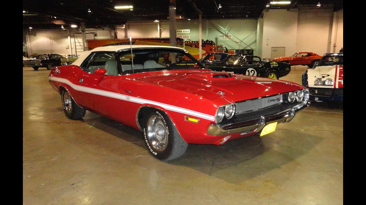 1970 Dodge Challenger R/T Convertible 440 With Factory Shaker Hood   My Car  Story With Lou Costabile   YouTube
