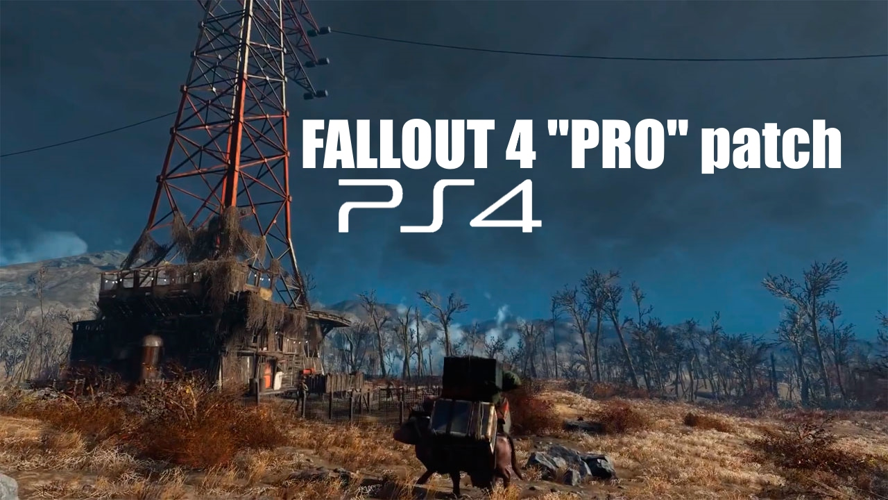 Fallout 4 gets a ps4 pro update this week – game rant.