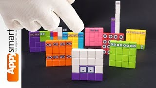 Our Magnetic Numberblock Number 16 FIXED! - crafts and math project for kids