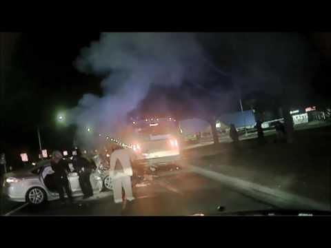 Royal Oak Police Sergeant Pulls Victim Out of Burning Car