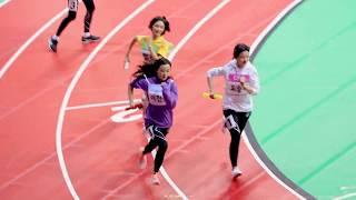 [4K] 180820 에이프릴(April)  - 아육대 여자 릴레이 계주 예선 @2018 아이돌스타 육상 선수권대회(ISAC) [직캠/FanCam]