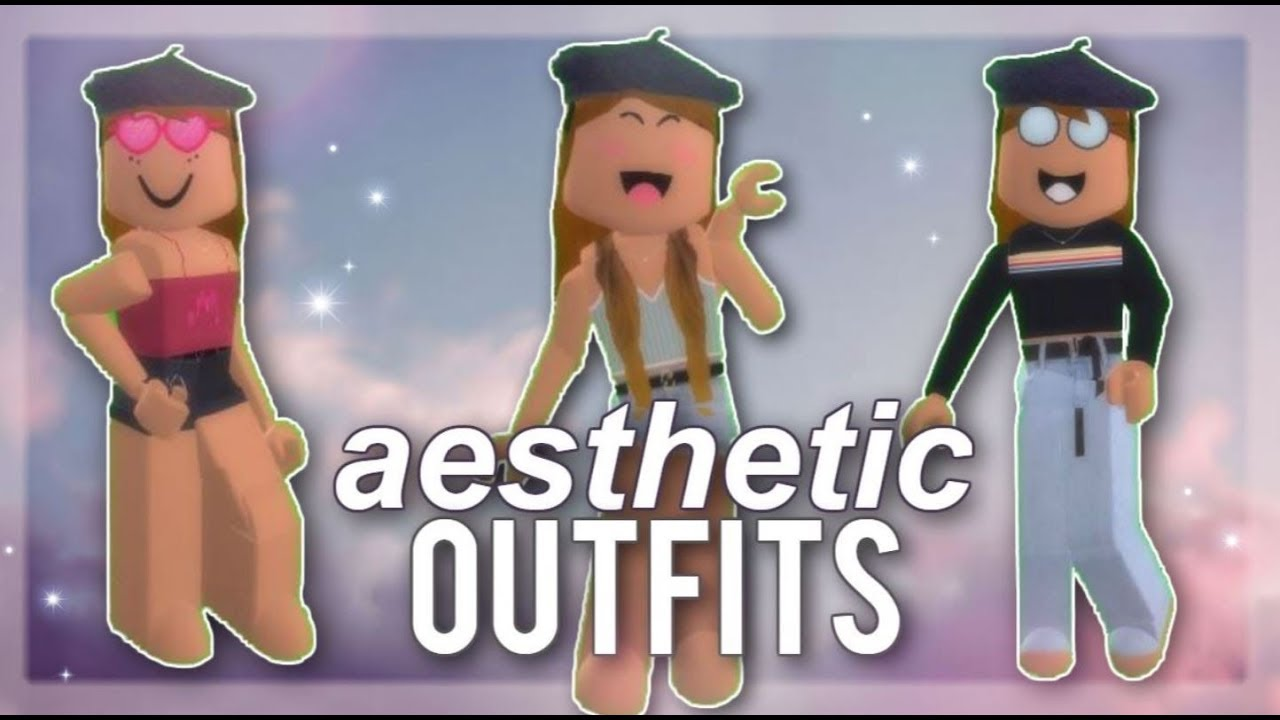10 Aesthetic Outfits For Girls With Codes Roblox Faeglow