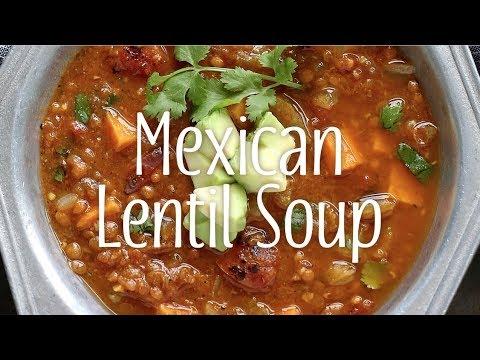 Mexican Lentil Soup