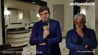 Salone Internazionale del Bagno 2018 | DEVON&DEVON - Gianni Tanini e Graziano Verdi