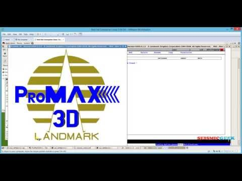 Seismic Data Processing : How To Install Promax R5000