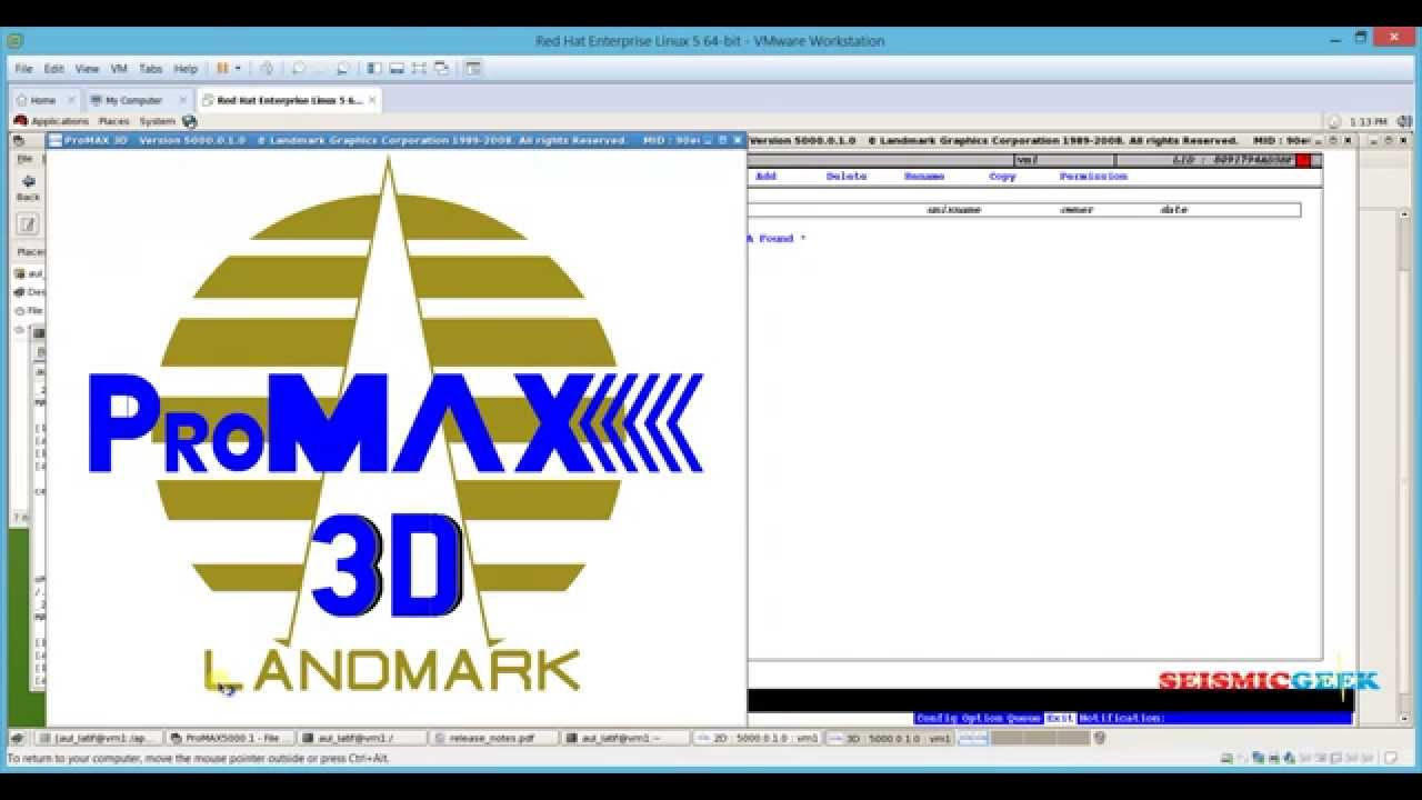 seismic data processing how to install promax r5000 youtube rh youtube com