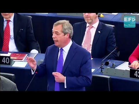 Nigel Farage: We're being given a ransom note!