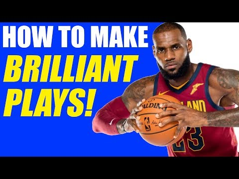 How To: Make Smart Plays In Basketball! Basketball Tips For Games!