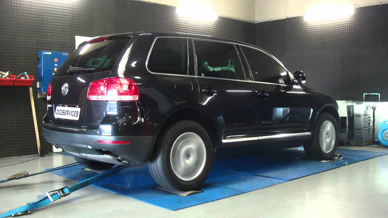 reprogrammation moteur vw touareg r5 tdi 174cv 209cv dyno digiservices youtube. Black Bedroom Furniture Sets. Home Design Ideas