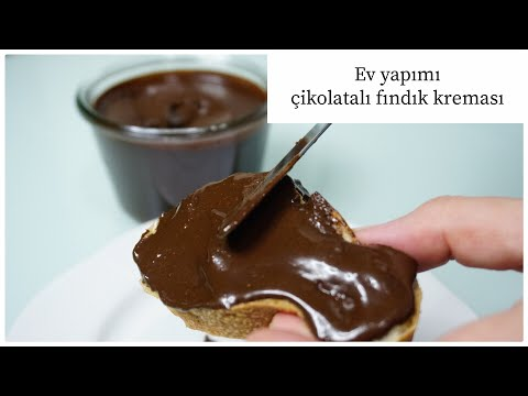 Ev Yapımı çikolatalı Fındık Kreması/Evde Nutella Nasıl Yapılır/Tatlı Tarifleri/Figen Ararat
