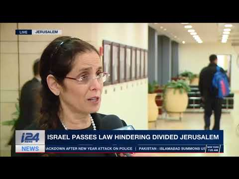MK DR. Anat Berko in an interview to i24 about the Jerusalem bill- 02.01.18