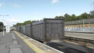 (HD) How You Drive A Class 66!! 66729 Departs Orpington With Thrash & Horns..