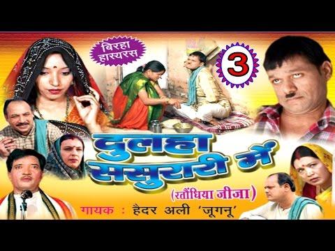 Dulha Sasurari Me (Part -3)   Ratondhiya Jija   दूल्हा ससुरारी में   Haider Ali   Bhojpuri  Birha  