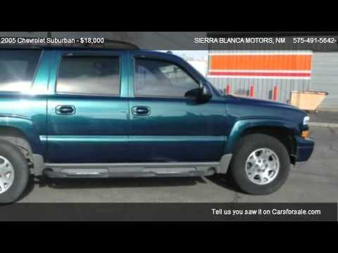 2005 Chevrolet Suburban Z71 For Sale In Ruidoso Nm