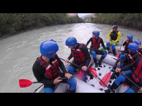 Rafting Camp 2016 - Young Life Basel & Munich