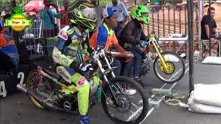 Gambar cover Drag Bike 2017 ; LUARR BIASA F1ZR Team SINOGO BORONG GELAR JUARA Kelas BBK 2T STD 116 CC PO