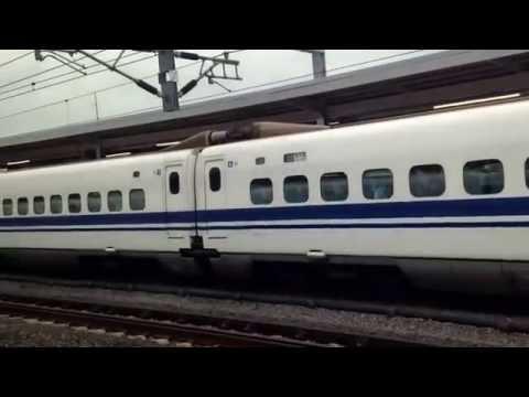 Day 7: Bullet train from Nagoya to Tokyo, then express train to Narita airport. Sayonara Japan.