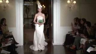 Carolina Herrera Bridal SS11 - Videofashion Daily