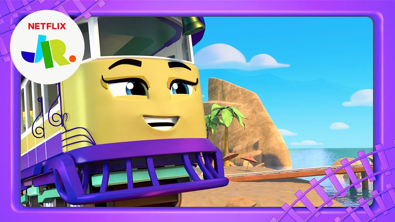 Penny's Summer Train-cation 🌴 Mighty Express Short Tracks FULL EPISODE | Netflix Jr