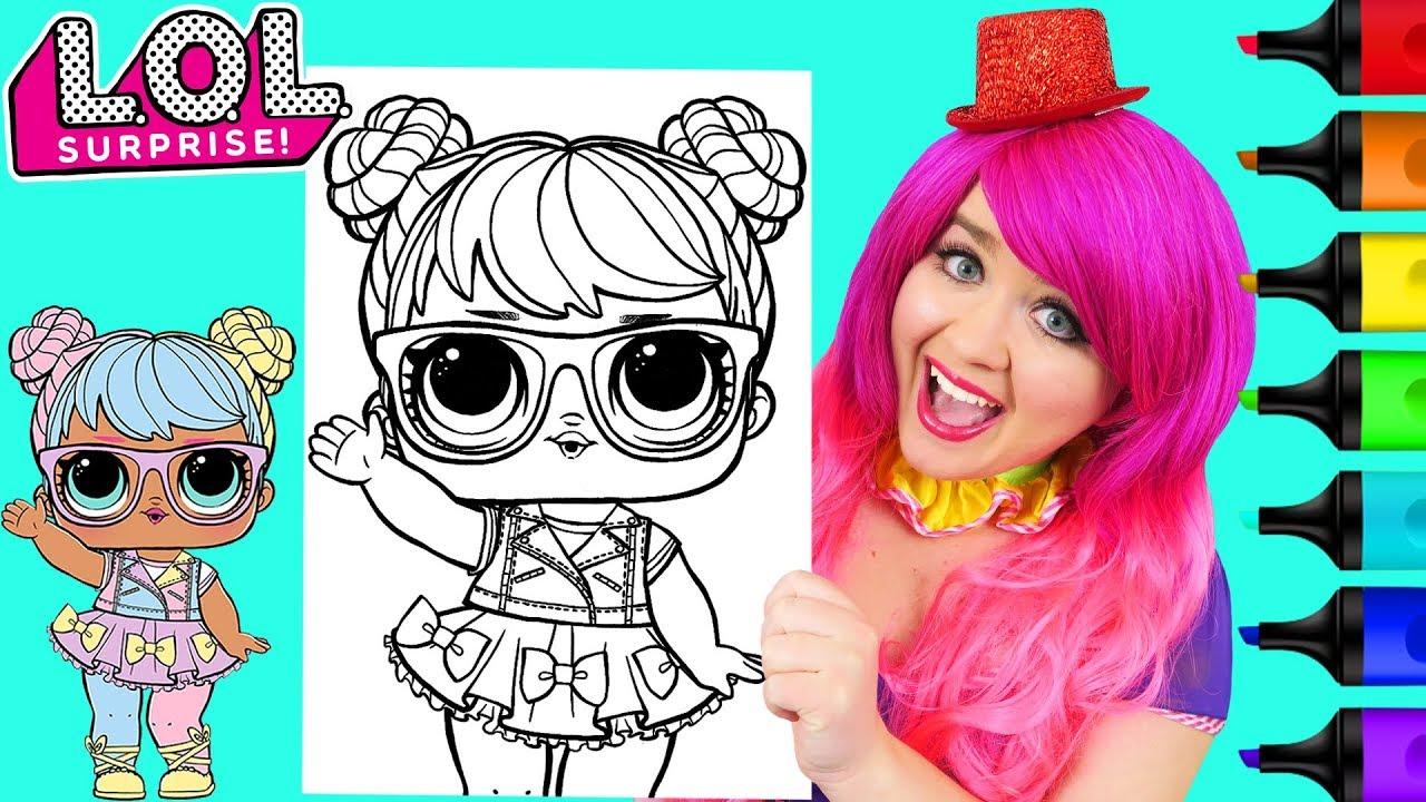 Coloring Lol Surprise Dolls Bon Bon Coloring Page