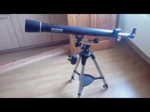 Celestron astromaster eq telescope youtube