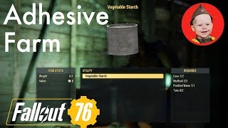 Fallout 76: How to Farm Adhesives