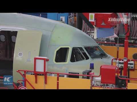 Sneak Peek Of Airbus' Tianjin Final Assembly Line