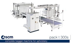 scm pack t300s - complete bagger machine for upholstery thumbnail