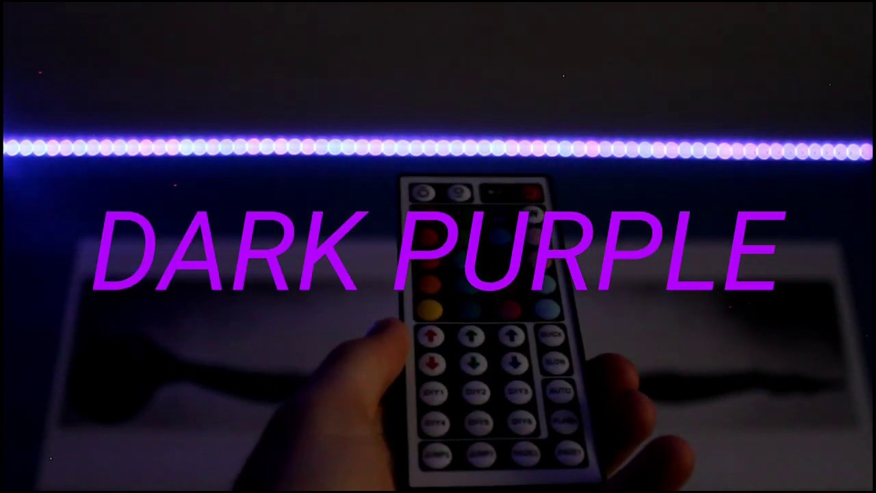 How To Make Dark Purple On Led Light Strips Custom Diy Light Strip Colors 9 Youtube Many adults enjoy making their own unique decorations and are serious about easy led light projects are fun for all. how to make dark purple on led light strips custom diy light strip colors 9